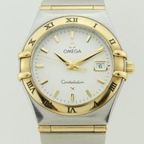 Omega Constellation Quartz and 18K Gold Lady