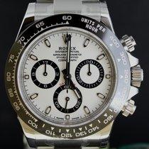 Rolex Daytona Chronograph Steel, White Dial Ceramic Bezel...