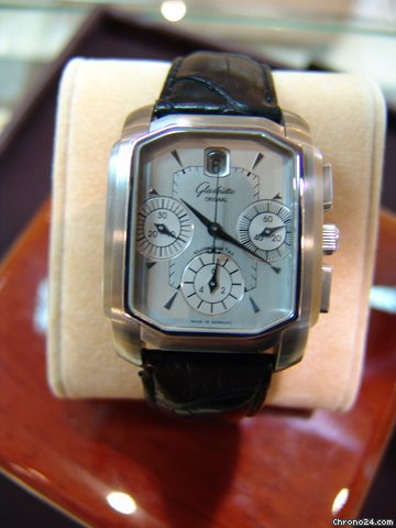 Glashtte Original Senator Karree Chronograph