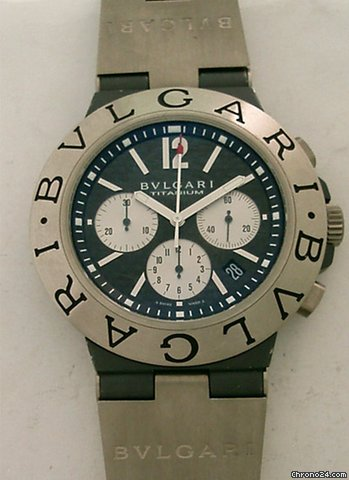 Bulgari Diagono Titanium Chrono 44