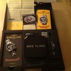 Breitling Emergency Mission A73321 Steel Black Dial Stunning