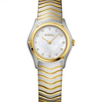 Ebel Classic Gold Steel 27.3 mm Case, Mother Of Pearl Dial