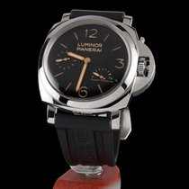 Panerai luminor 1950 3 days power reserve steel manual winding