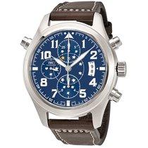 IWC Men's IW371807 Pilot Midnight Double Chronograph Watch