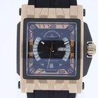 Zeno-Watch Basel Mistery Rectangular PVD NEW