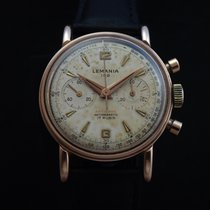 Lemania Vintage Mechanical 105 Chronograph 50's