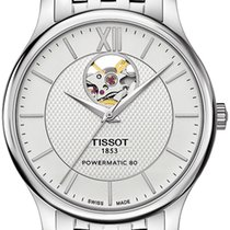 Tissot T-Classic Tradition Powermatic 80 Open Heart T063.907.1...