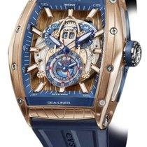 Cvstos Challenge Sealiner GMT Men's Watch, Bicolor Red...