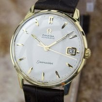 Omega 1960s Seamaster 18k Gold C562 Automatic 34mm Mens Swiss...