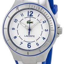 Lacoste Acapulco Steel White & Blue Womens Fashion Strap...