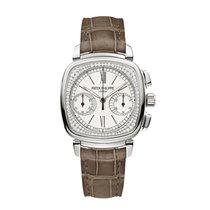 Patek Philippe Complications Chronograph Silver Opaline Roman