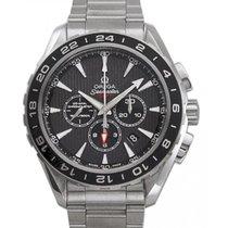 Omega Aqua Terra Chronograph GMT 231.10.44.52.06.001 44mm Grey...