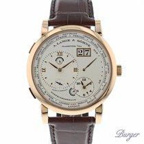 A. Lange & Söhne Lange 1 Timezone Rose Gold