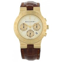 Bulgari Diagano CH35G 18k Yellow Gold Chronograph