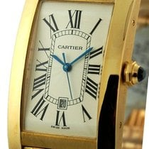 Cartier Tank Collection Tank Americaine 18k Yellow Gold Large...