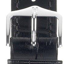Hirsch Duke Lederarmband schwarz L 01028050-2-21 21mm