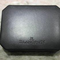Blancpain vintage watch box black newoldstock