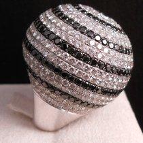 Turin Time Ring Diamond white/black