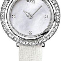 Hugo Boss Ladies HB1502278 Elegante Damenuhr Mit Kristallsteinen
