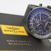 """百年靈 (Breitling) Breitling Navitimer 01 """"Black Steel""""..."""