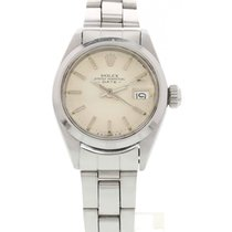 Rolex Ladies Vintage Rolex Date SS W/ Papers 6519
