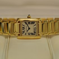 Cartier 18ct Gold Tank Francaise