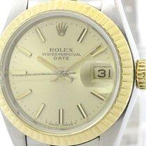 ロレックス (Rolex) Polished Rolex Datejust  18k Gold Steel Automati...