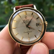 Omega constellation automatic oro gold chronometer automatico