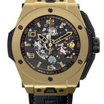 Hublot Big Bang Ferrari Skeleton Dial 18K Yellow Gold Automati...
