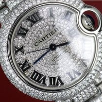 Cartier Diamond Cartier Ballon Bleu W6920046 Automatic...