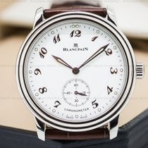 Blancpain 7002-1127-55 Ultra Thin White Dial Manual Wind...