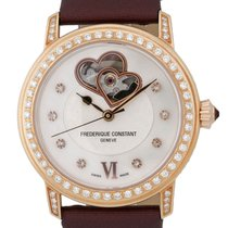 Frederique Constant World Heart Federation Diamond Womens...