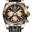 Breitling Chronomat 44 Steel Gold Automatic Watch - CB011012/B968
