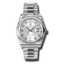 Rolex Day-Date President Platinum Diamonds