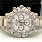 Rolex Daytona White Dial Todo De Aço