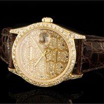 Rolex Day-Date (36mm) Ref.: 18238 in 18k Gelbgold mit nachträg...