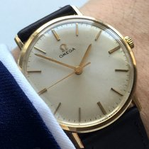Omega Servicierte Original Ladys Watch  Solid Gold Vollgold Damen