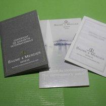 Baume & Mercier vintage warranty booklet papers avantgarde...