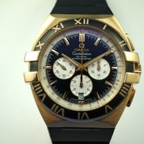 Omega 121.62.41.50.13.001 Double Eagle Co-Axial Chrono 18k rose