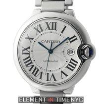 Cartier Ballon Bleu Collection Stainless Steel 42mm Silver...