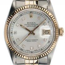 Rolex Datejust Stahl 18kt Gelbgold Automatik Armband Jubilé...