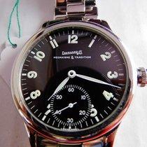 Eberhard & Co. traversetolo manuale uomo acciaio