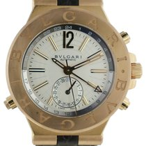 Bulgari Diagono Automatic, GMT 2 18k Pink Gold Watch