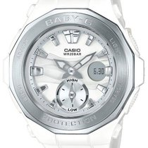 Casio Womens Baby G - White Case & Strap - Analog -...