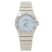 Omega Constellation 123.10.27.20.57.001 - Mother of Pearl Dial...