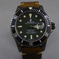 Rolex Submariner ref:16800 DLC black