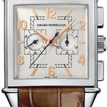 Girard Perregaux Vintage 1945 Chronograph 18K Solid White Gold