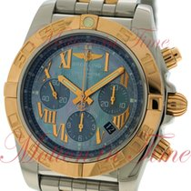 Breitling Chronomat B01, Blue Mother of Pearl Dial - Stainless...