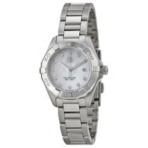 TAG Heuer Aquaracer Mother of Pearl Diamond Dial Ladies Watch