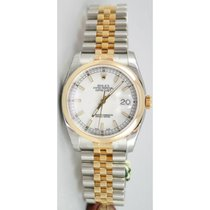 Rolex Datejust 116203 Stainless Steel & 18K Yellow Gold...